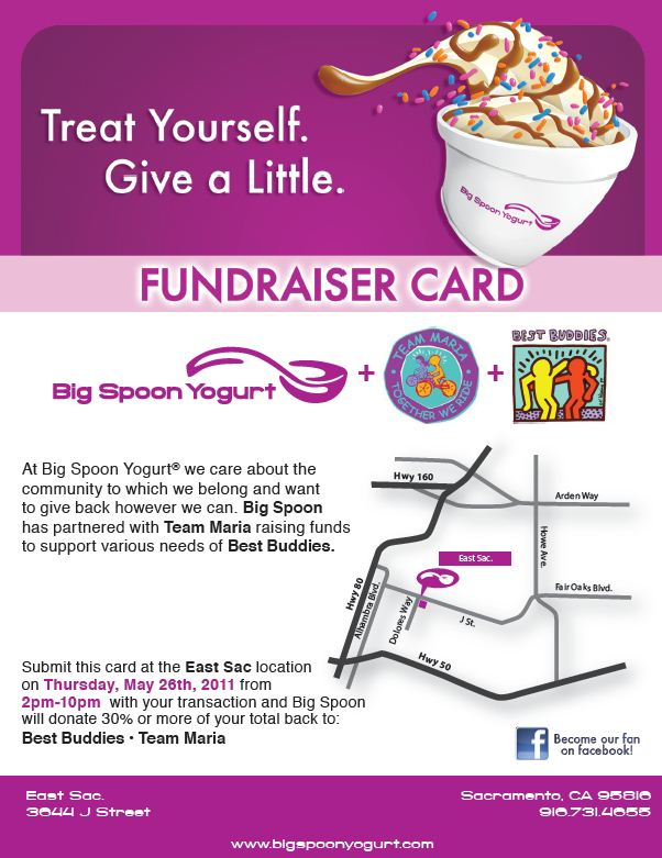 Big Spoon Fundraiser Flyer « Best Buddies Team Maria
