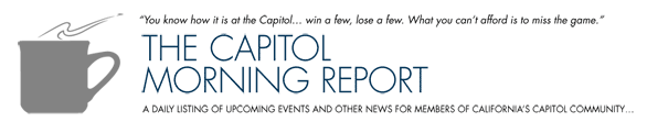 capitol morning report